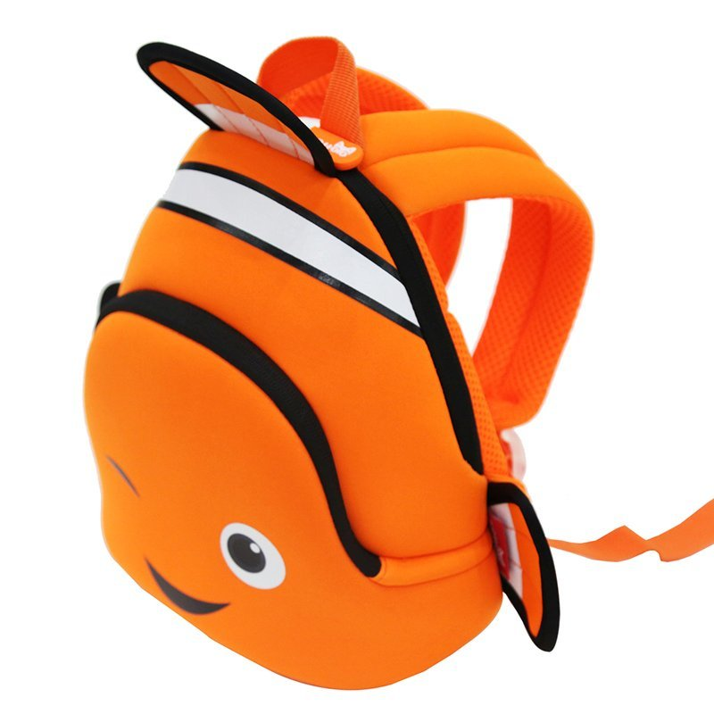 GY293 Neoprene backpack for kids kindergarten daily outdoor bags Clown Fish