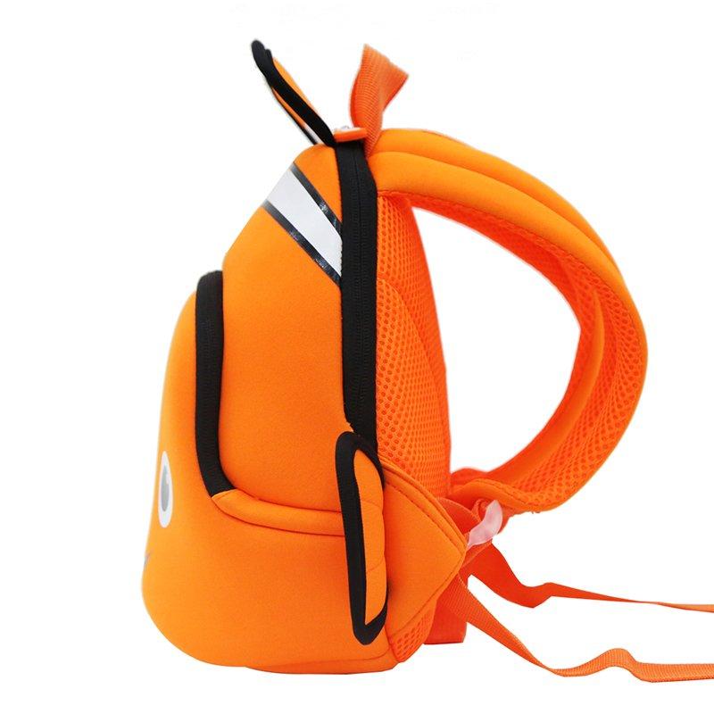 GY293 Neoprene backpack for kids kindergarten daily outdoor bags Clown Fish