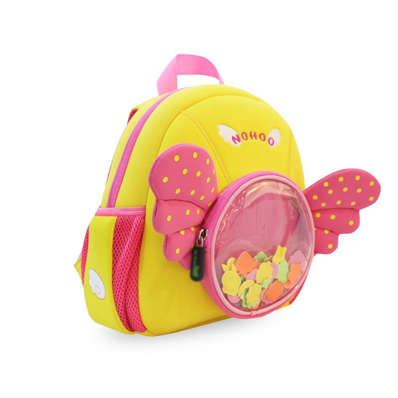 NH030  Angel style Premium Durable Waterproof neoprene Backpacks for girls