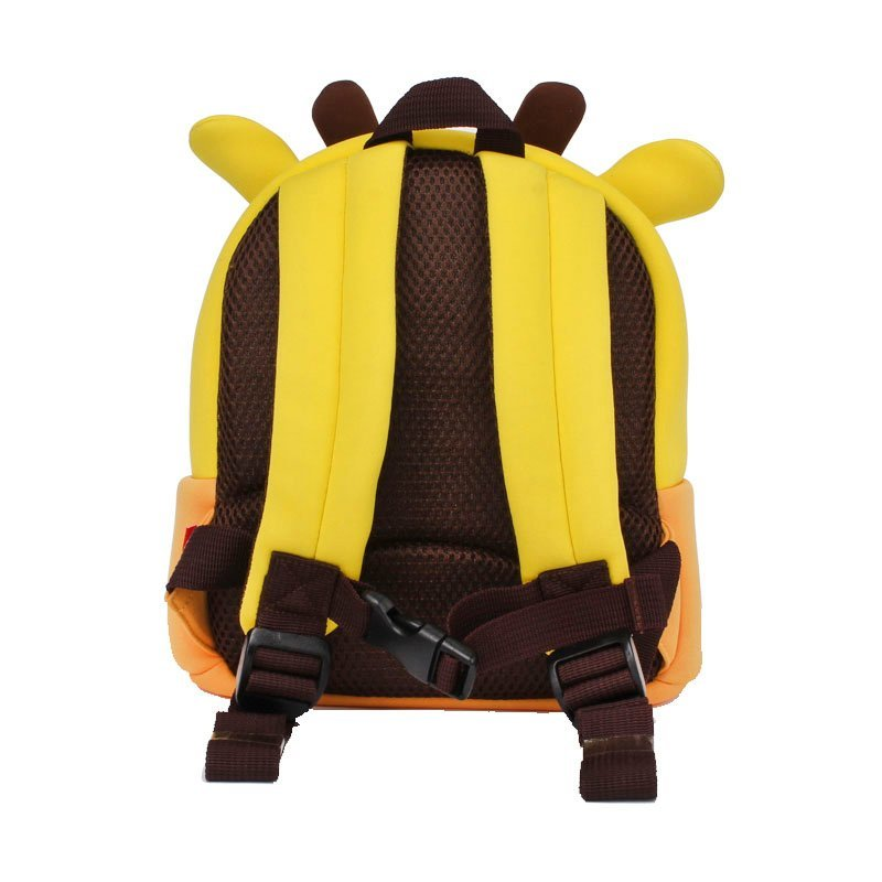 NH059  Ultra light 3D deer Sports Toddler Backpack with Safety test