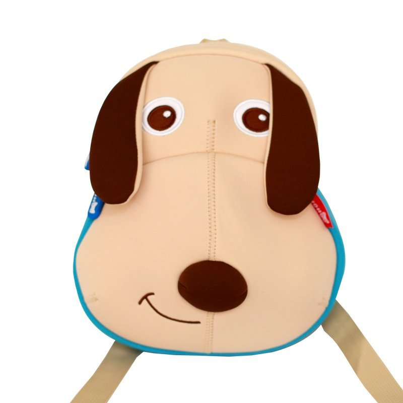 NH063  Little Kids Children's School Bags 3D Cartoon Dog backpack