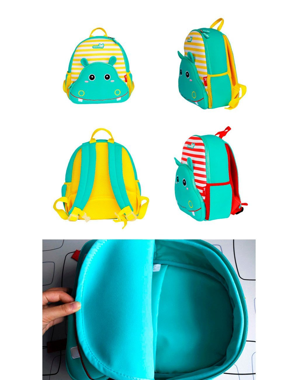primary nh015 school Nohoo Children Products Brand herschel kids backpack supplier