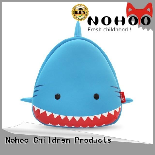 eco animal Nohoo Children Products Brand preschool backpack boy