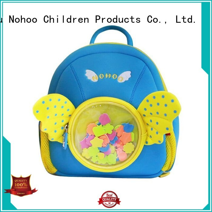 Wholesale schoolbag toddler boy backpack Nohoo Children Products Brand