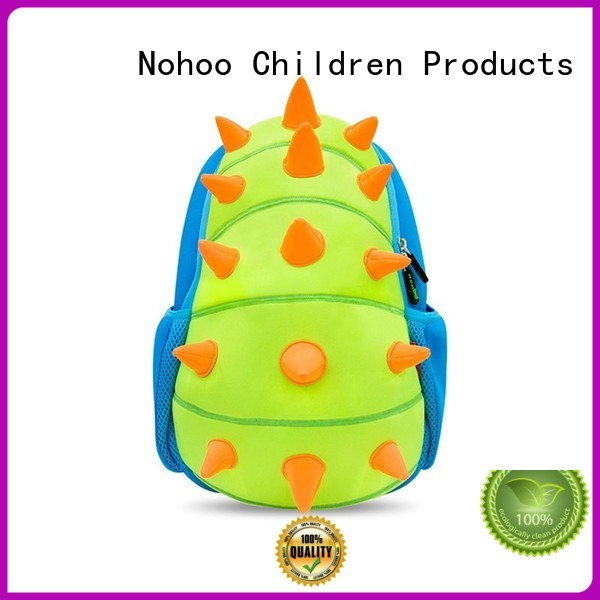 ecofriendly custom made backpacks for kids kids Nohoo Children Products company