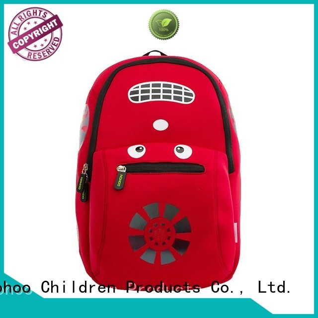 Nohoo Children Products Brand school waterproof custom made backpacks for kids customized supplier