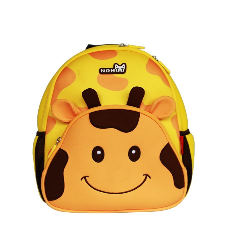 New custom design funny neoprene comfortable kids school bag for students