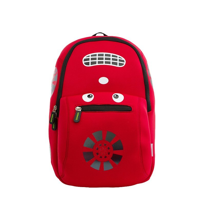 NH003 Car style children school bag fashion neoprene backpack for boys