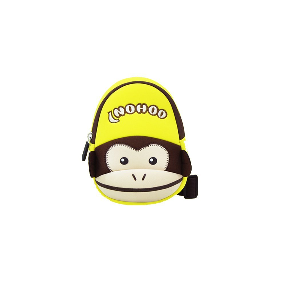 Kids Neoprene Waterproof Cute Animal Monkey Style lightweight Chest Bag