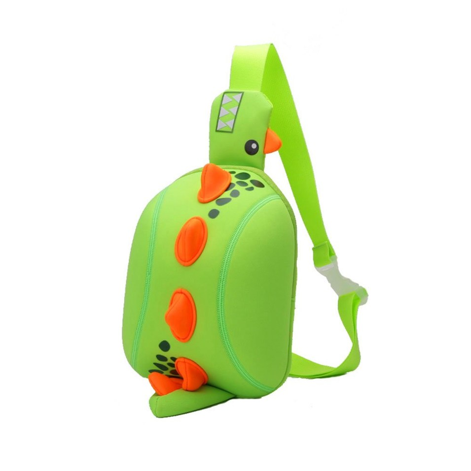 Dinosaur cartoon kids backpack manufacturers children Animal chest bag