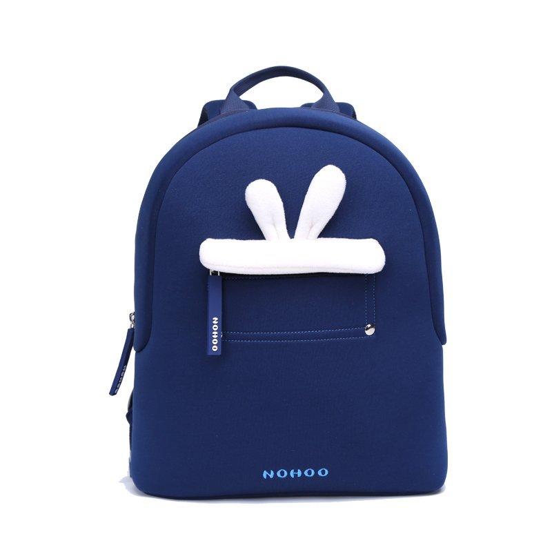Blue rabbit plush Kids Backpack Preschool Boys Girls family backpack