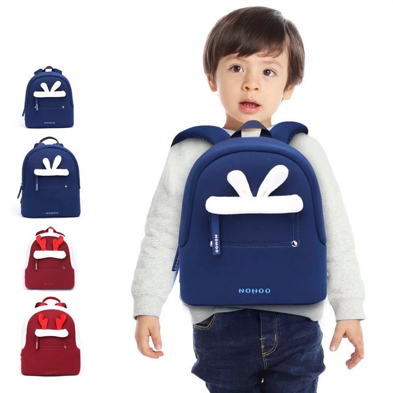 Wholesale travel custom made backpacks for kids Nohoo Children Products Brand