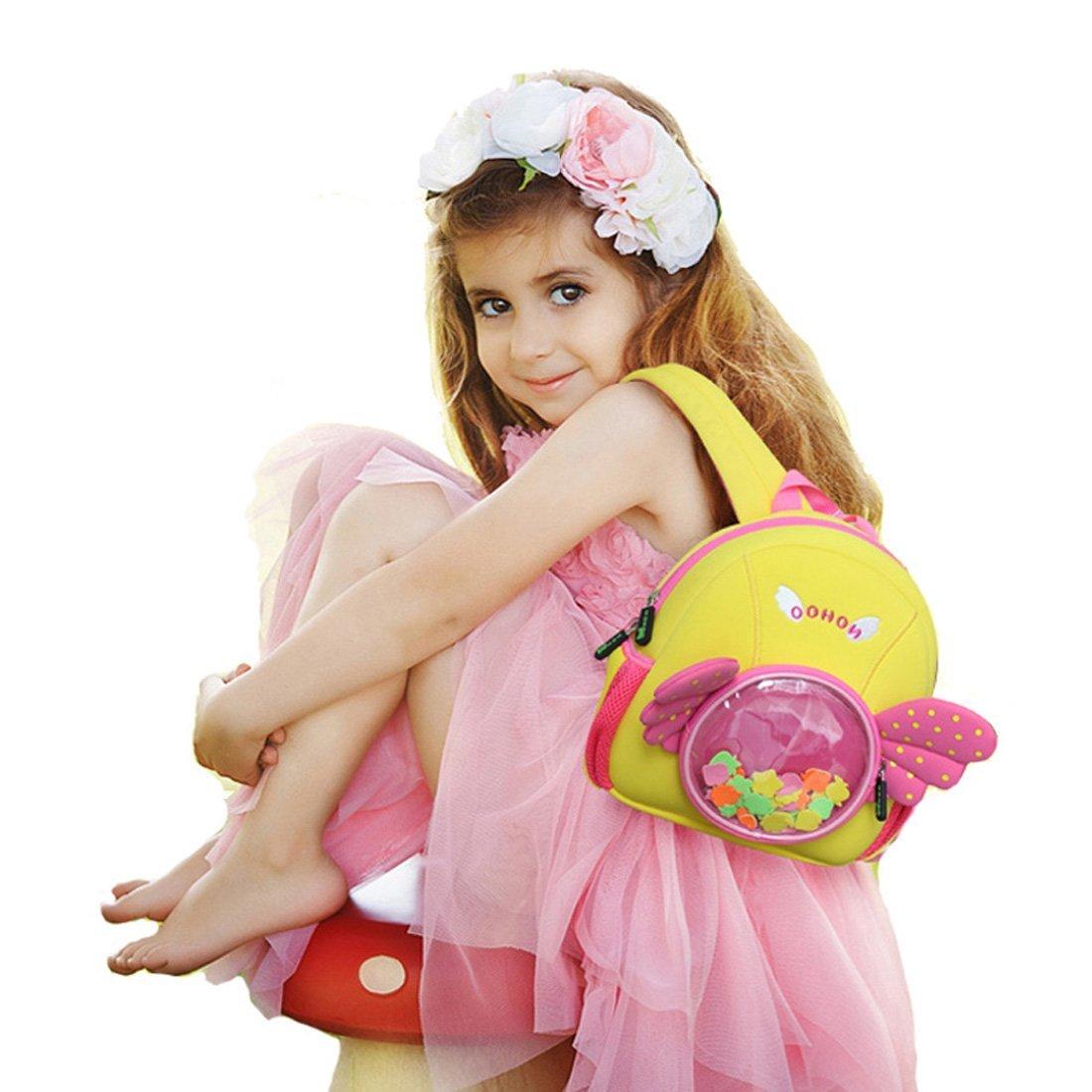 NH030 Angel style Premium Durable Waterproof neoprene girls Backpacks