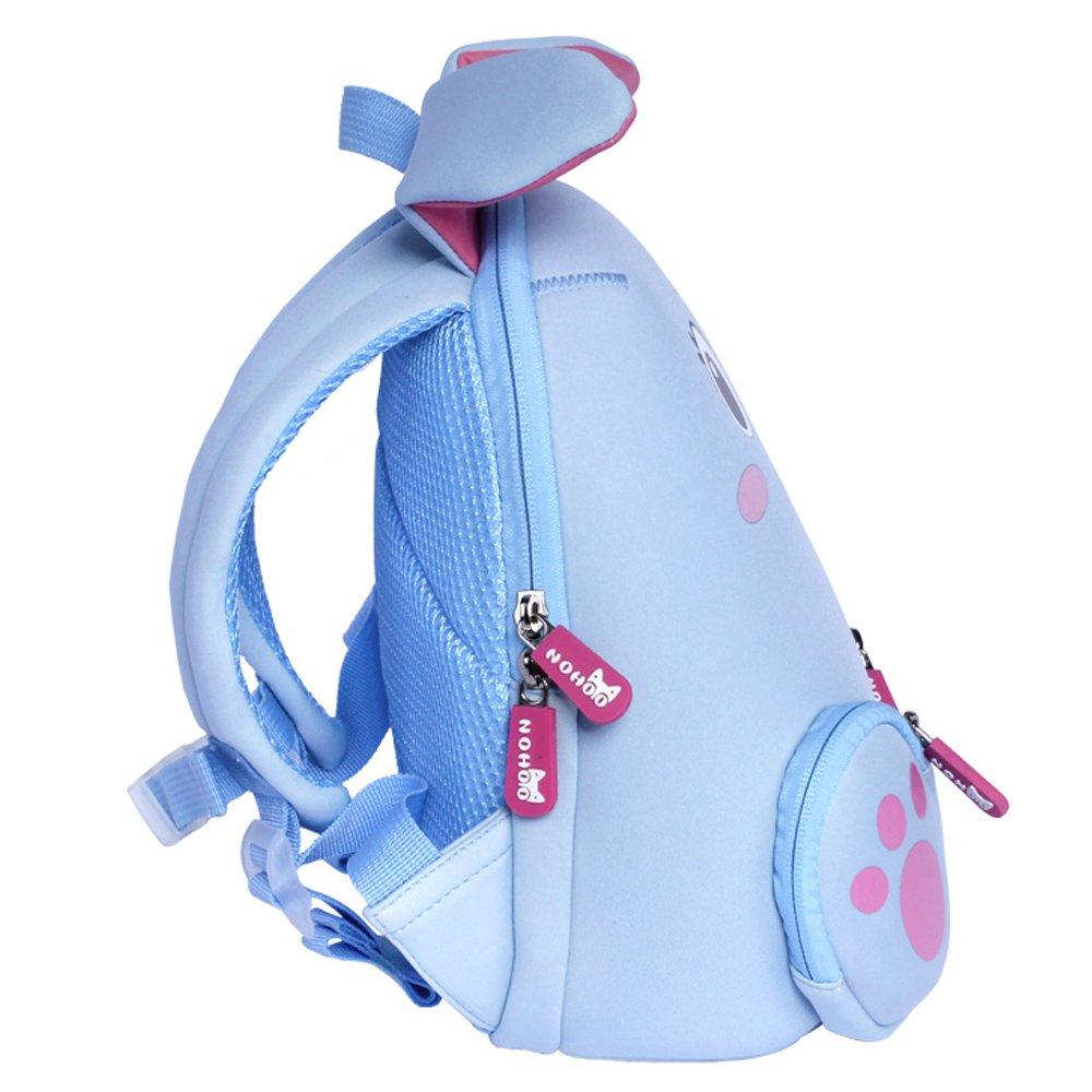 Nohoo Children Products-Nh044 Blue Rabbit Neoprene Kids Cartoon Backpacks For Children | Neoprene-1