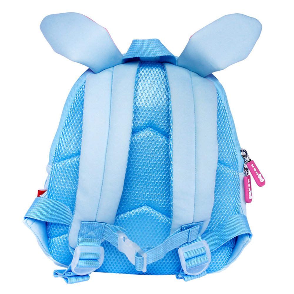 Nohoo Children Products-Nh044 Blue Rabbit Neoprene Kids Cartoon Backpacks For Children | Neoprene