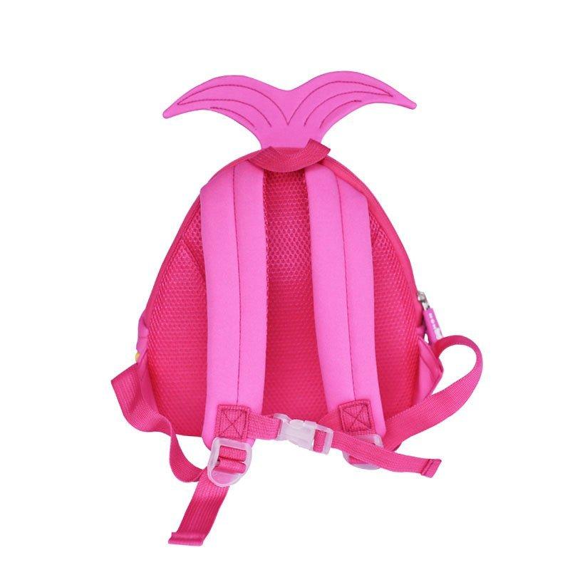 NH046 Mermaid fashion children neoprene pre-school backpack for girls.