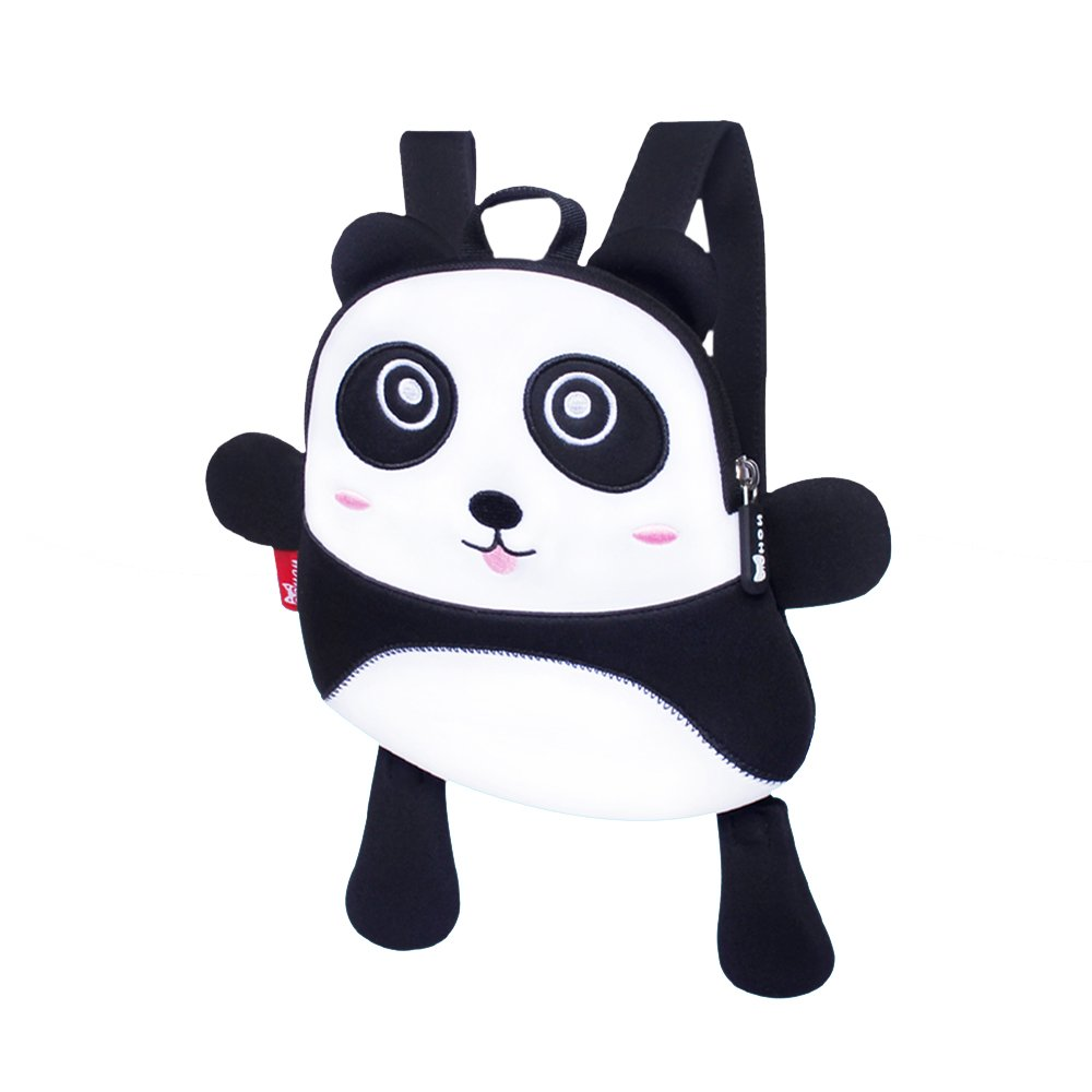 Toddler kids panda Backpack anti lost Bags with Safety for Boys Girls