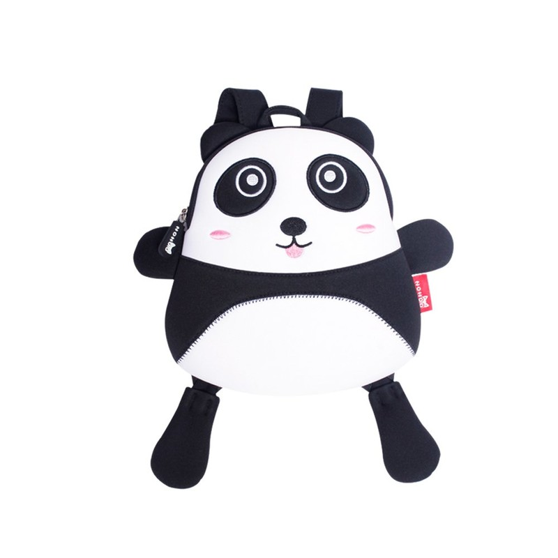NH047 Toddler kids panda Backpack anti lost Bags with Safety for Boys Girls
