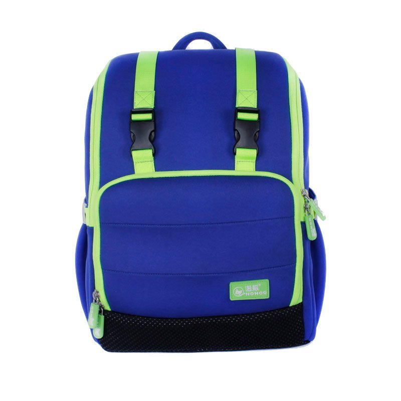 NH036 Neoprene large capacity multi-pocket durable student school bag