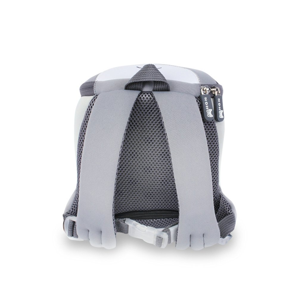 NH041 creative lovely cat neoprene toddler backpack with anti-lost rope