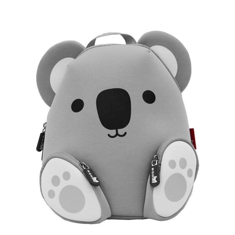 NH044A KoalaNeopreneAnimalChildrenBagBoysGirlsToddlersDailyBackpack