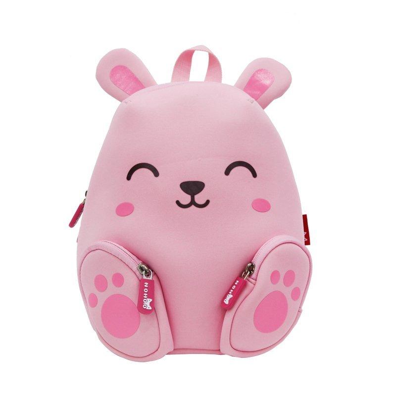 Animal cartoon Double Shoulder children school backpack for kids