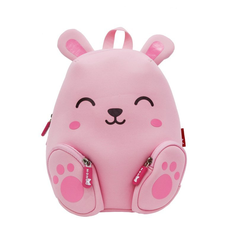Animal cartoon Double Shoulder children school backpack for kids