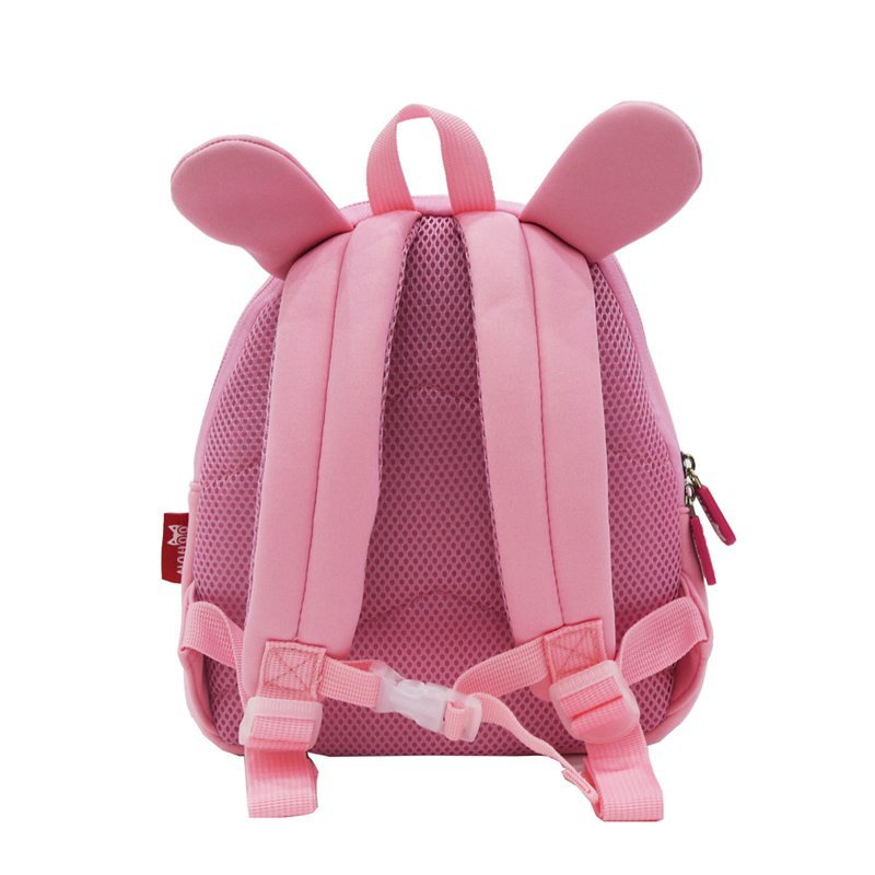 NH044B Animal cartoon Double Shoulder children school backpack for kids