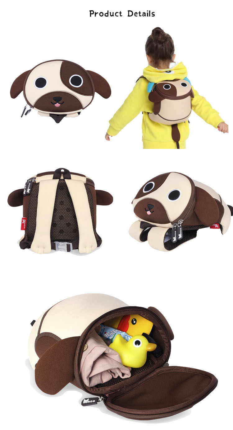 crab comfortable herschel kids backpack duck Nohoo Children Products Brand
