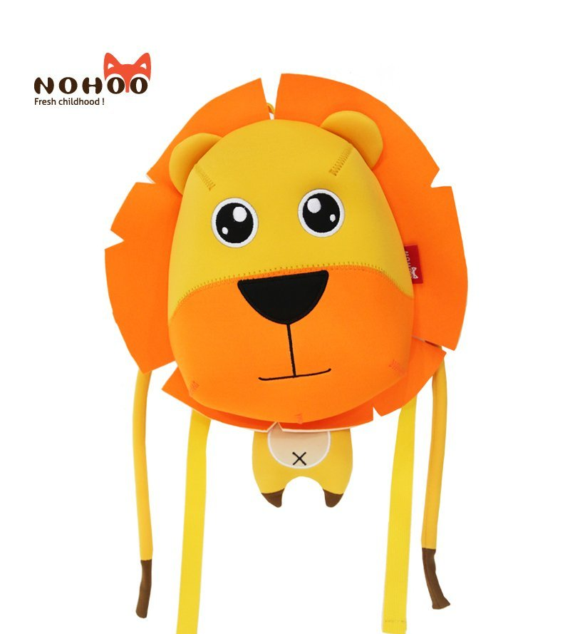 NH067 factory price neoprene eco-friendly toddler anti lost lion backpack