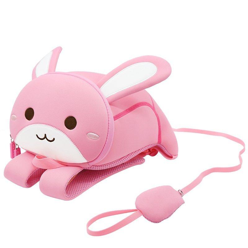 Trendy cartoon animal kids backpack lightweight toddler backpack