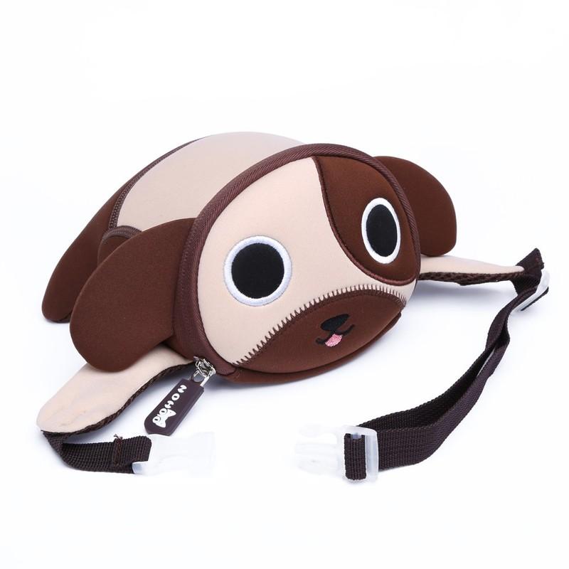 Mini embroidery dog Printing Crossbody Chest Bag Kids Waist Bag