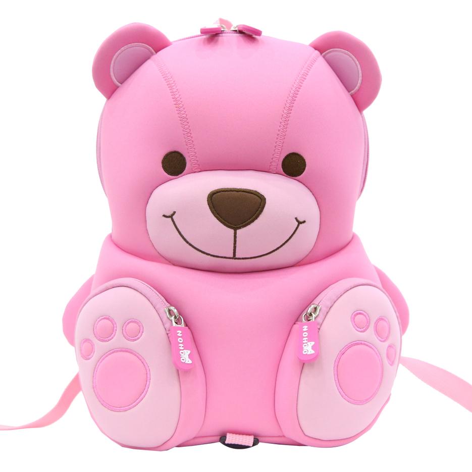 NH077 NOHOO neoprene eco-friendly Kids School Bag Preschool Backpack for Girls