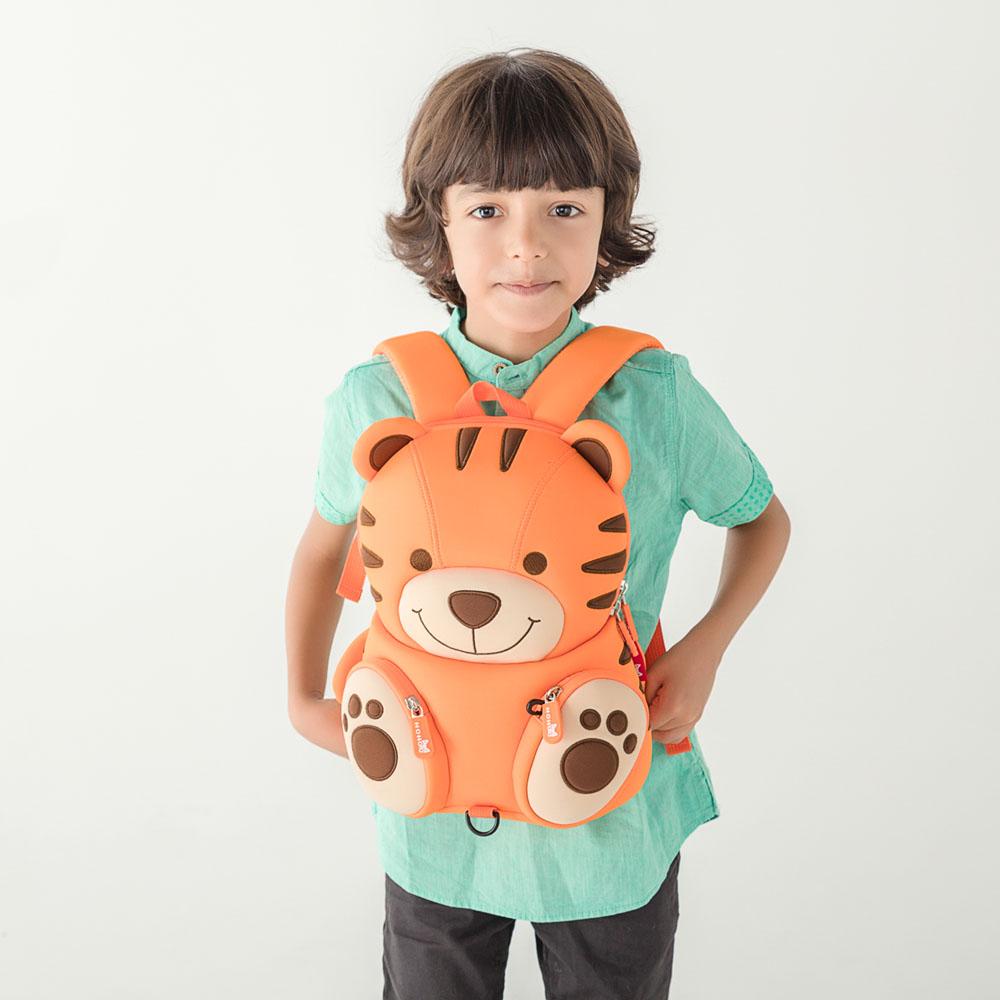 NH078 New kids cartoon neoprene backpack Children's gift lovely bag