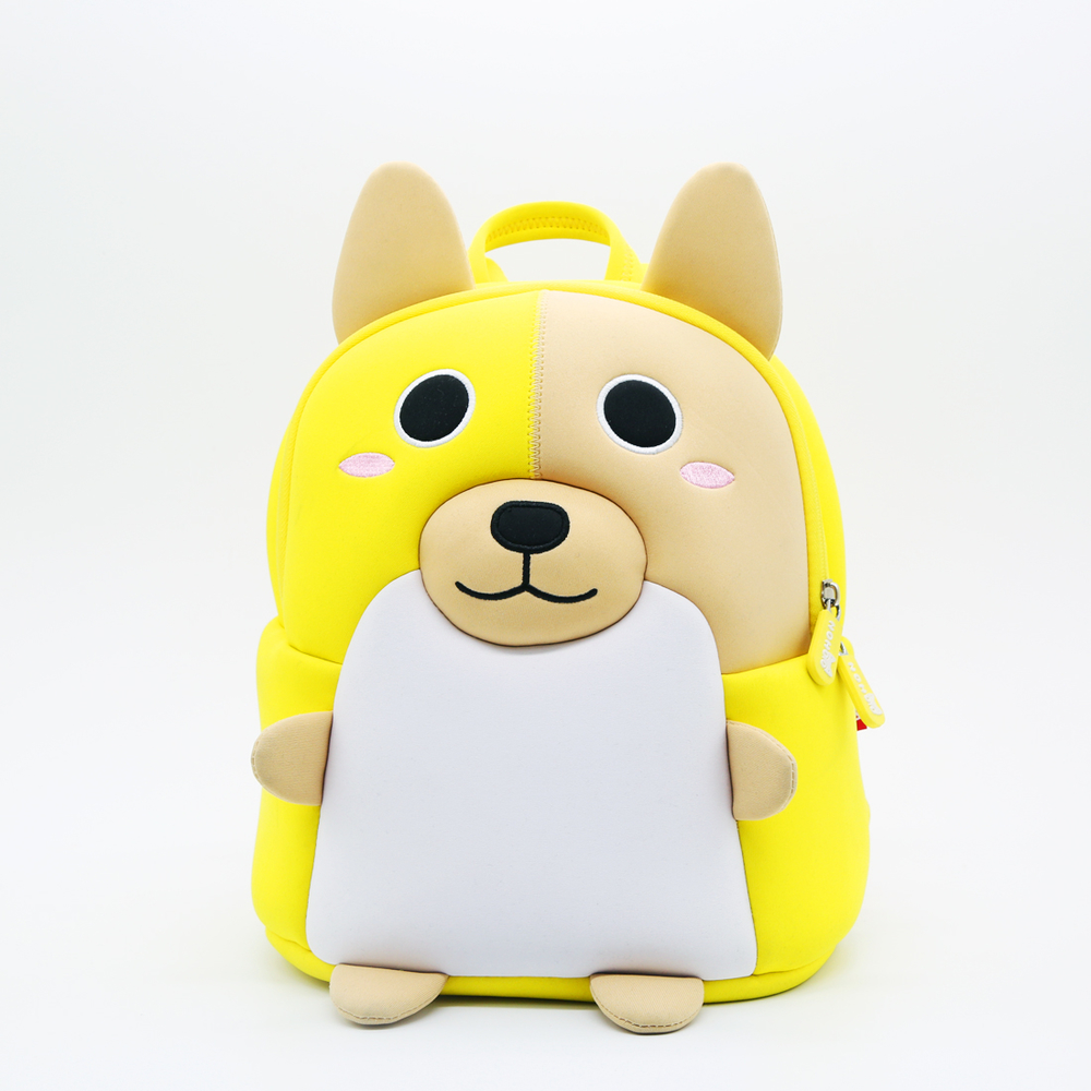 NHB088 NOHOO new style Kids cartoon bag animal school backpack wholesale