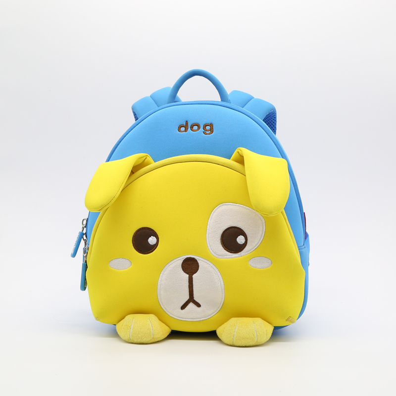 Preschool kids animal travelling custom toddler 3D backpack for boys