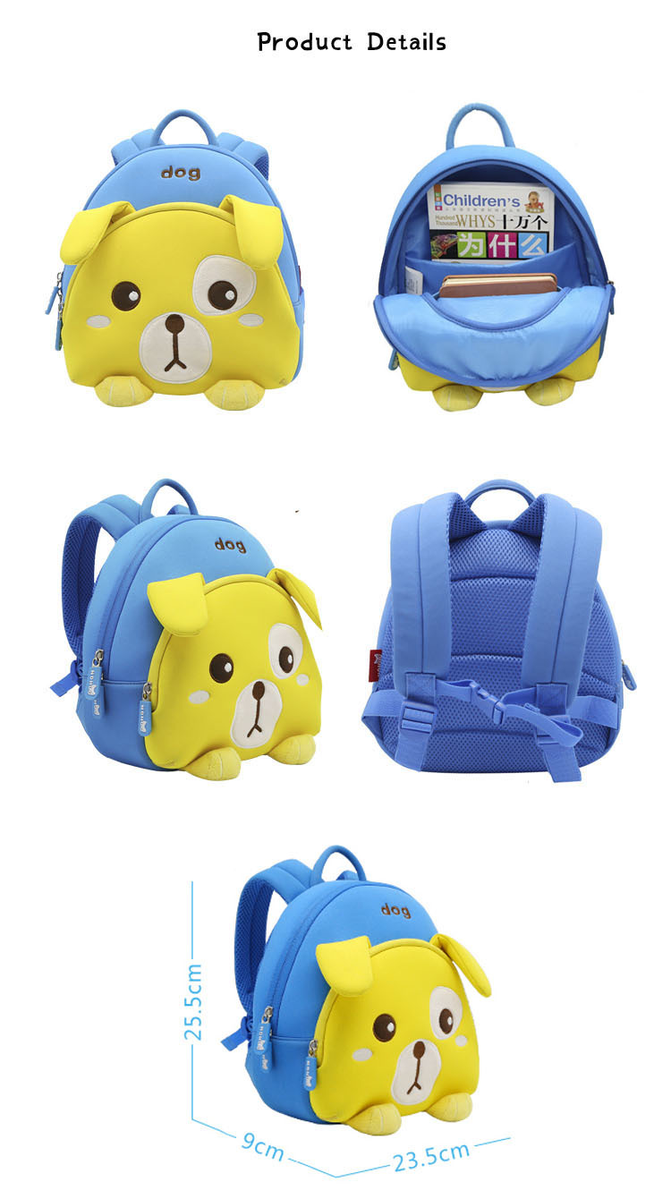 preschool backpack boy material durable Nohoo Children Products Brand company