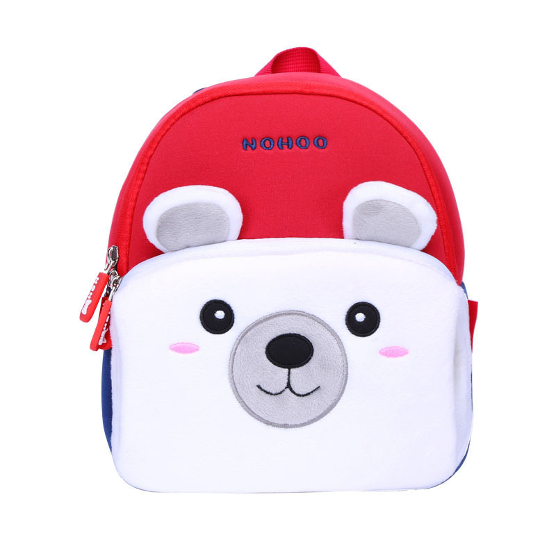 NOHOO Popular Cute Outdoor plush camping and travelling Bag family bag