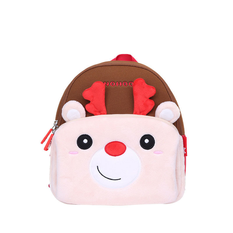 Customized Fashion children Functional Waterproof deer animal Backpack