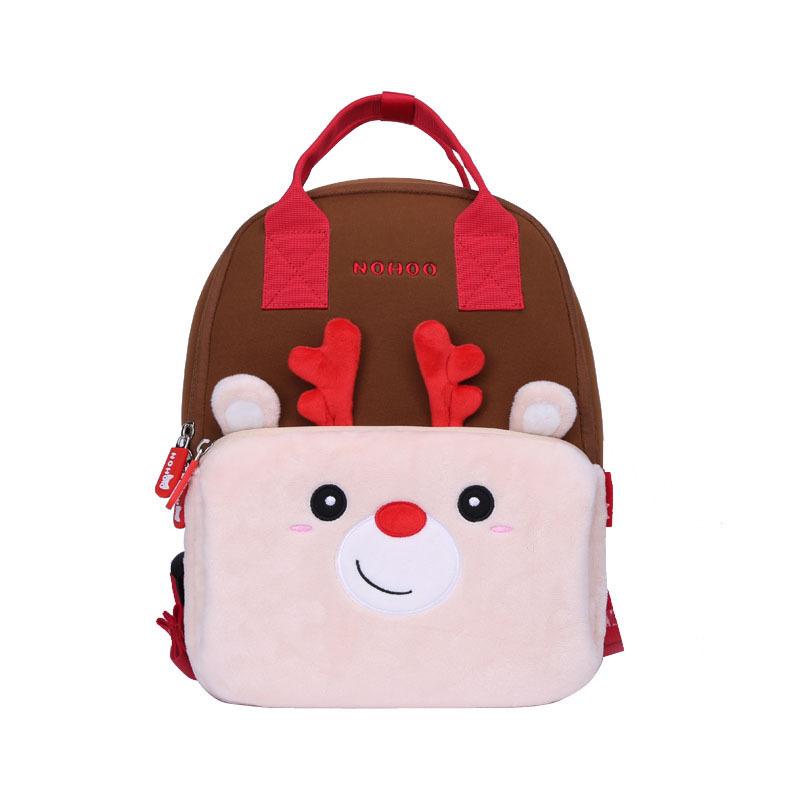 NHQ007 neoprene animal parent-child travelling family backpack bag