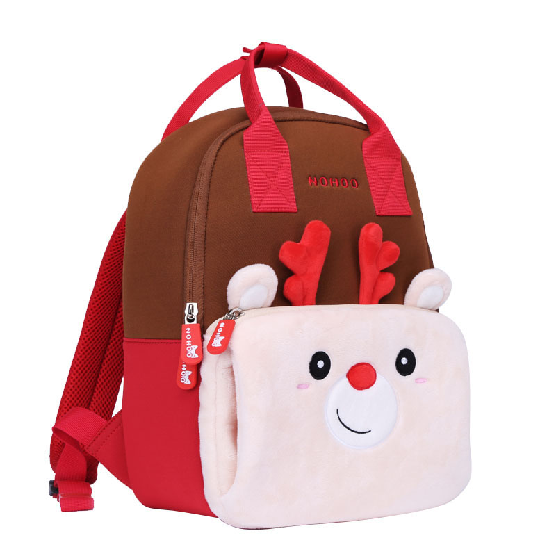 NHQ007 neoprene animal parent-child travelling family backpack bag