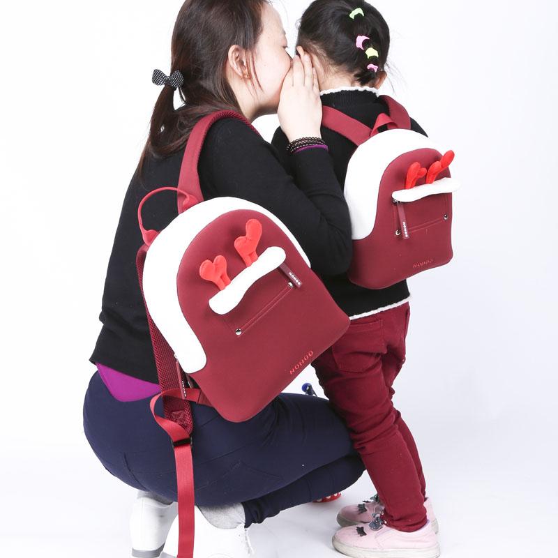 Manufacturer direct selling parent-child travelling backpack family leisure bag
