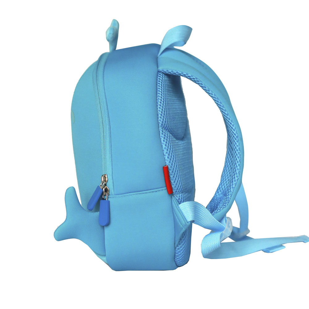 TQ2002 Manufacturer China neoprene children bag lovely whale backpack for boys