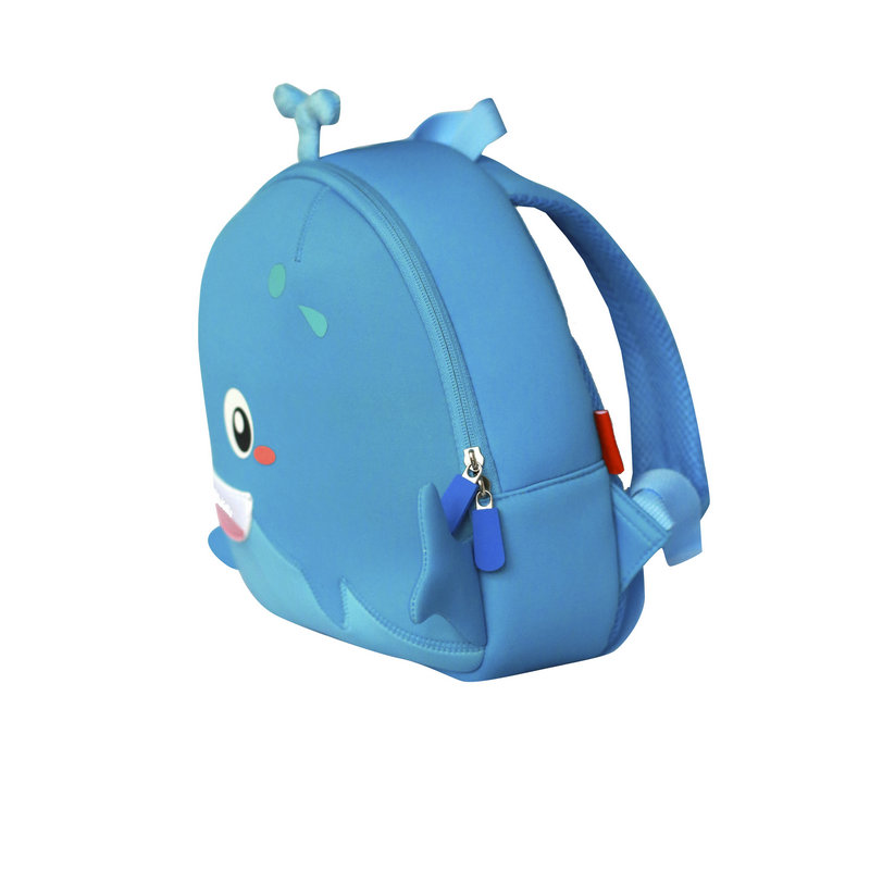 Manufacturer China neoprene children bag lovely whale backpack for boys
