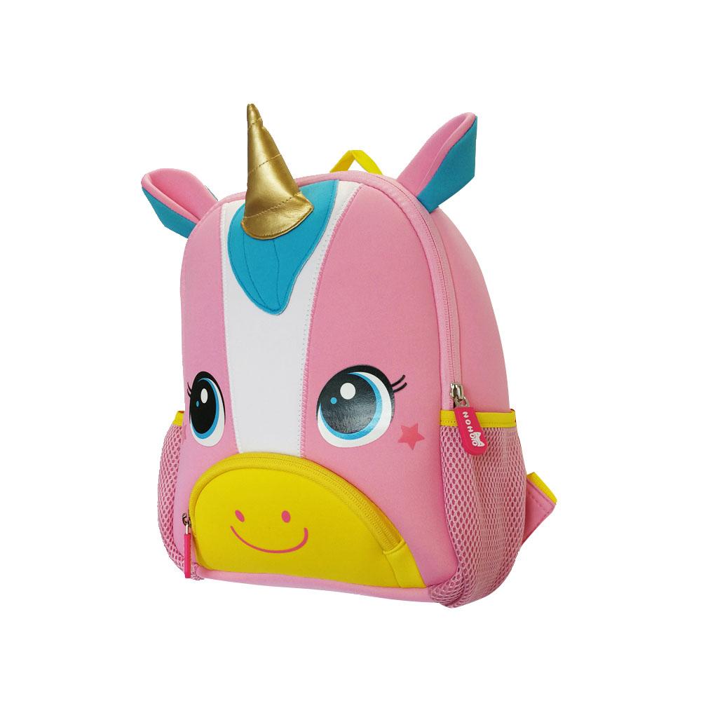 TQ3001 New design soft Children Backpacks 3D Animal unicorn kids bag