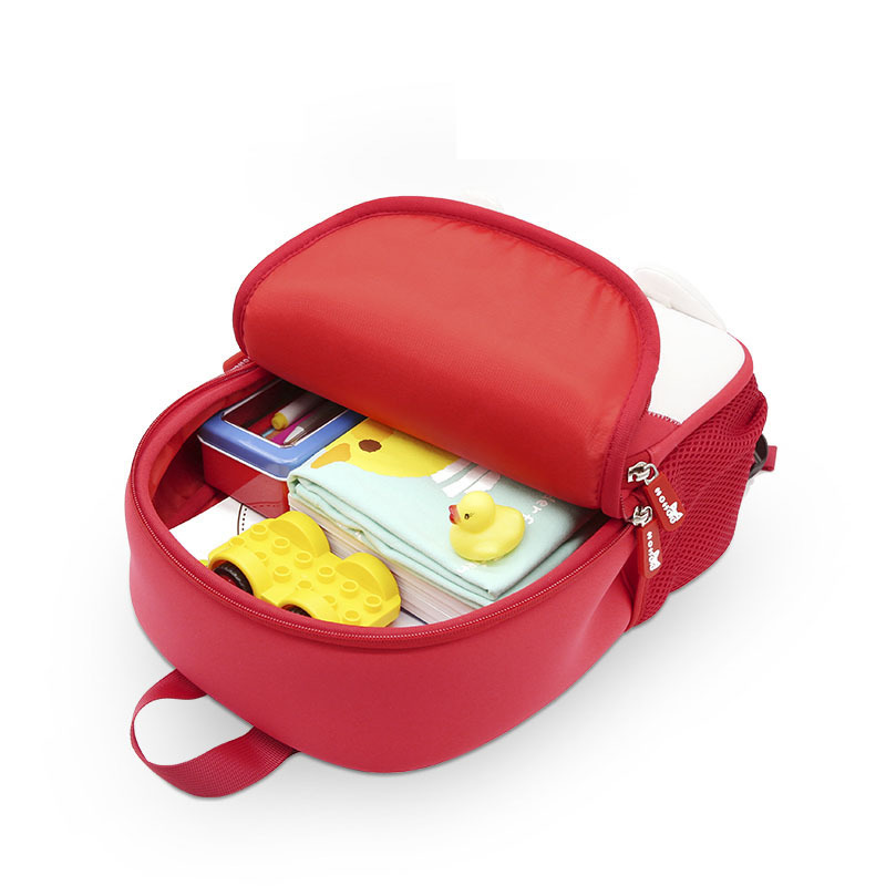 NHB136 2018 new style school bag for preschool child kids 3D Cartoon family backpack