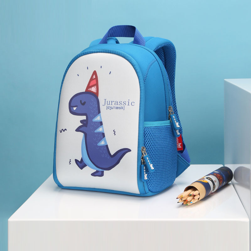 NHB117 new design dinosaur neoprene school Backpack for toddler