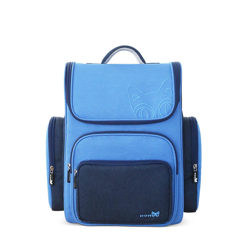 NHB114 new design light weight polyester children school backpack for student