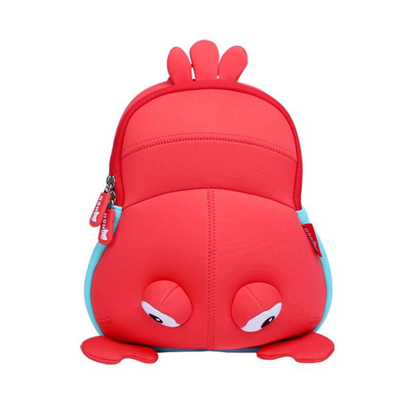 NH062 Nohoo neoprene Little Kid and Toddler Safety waterproof Backpack lobster
