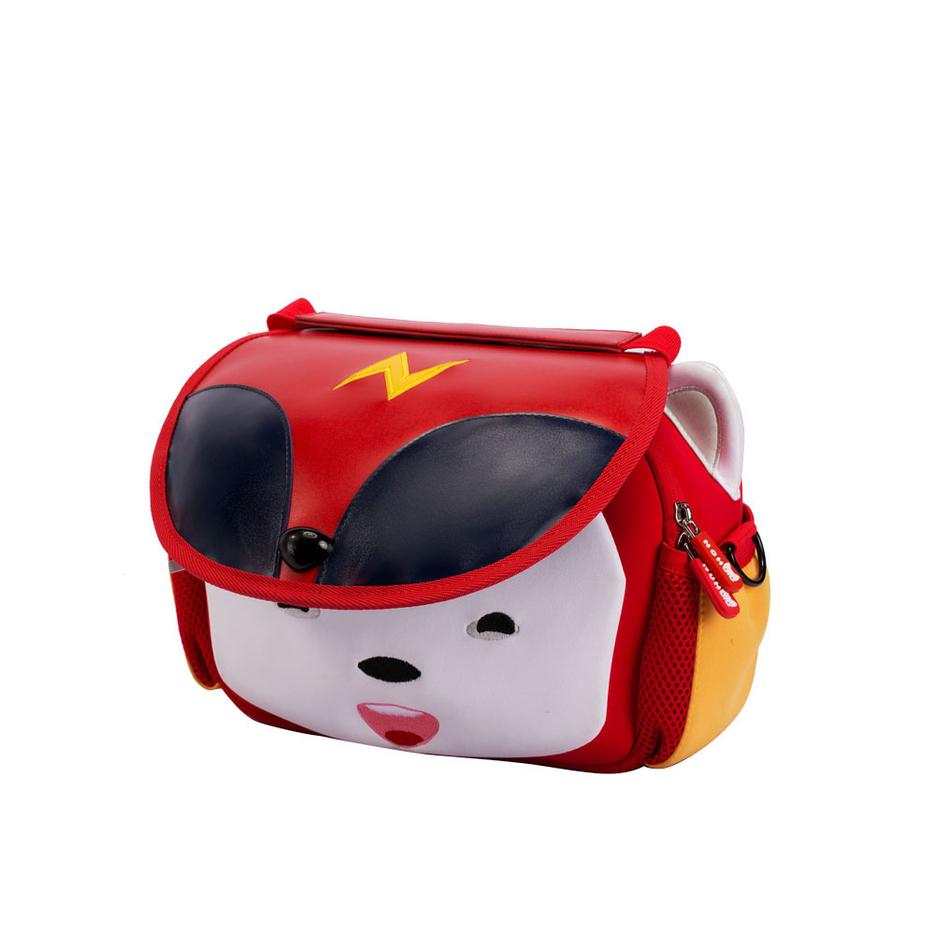 NHZ021 Nohoo new product nursery school neoprene and PU shoulder children backpack